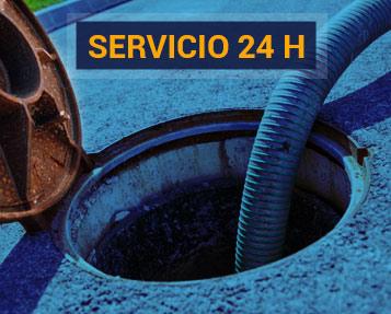 Servicio 24 horas pocería y desatrancos